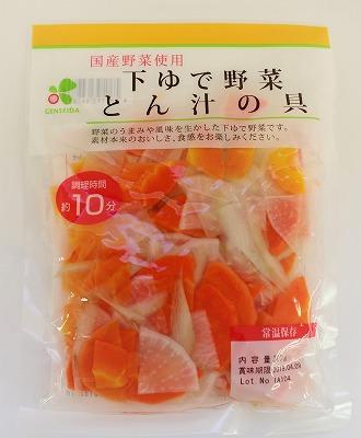 国産 下ゆで野菜<br>とん汁の具